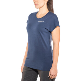 Norrøna W's Bitihorn Wool T-Shirt Indigo Night